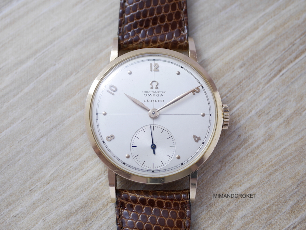 Omega Chronomètre rose gold