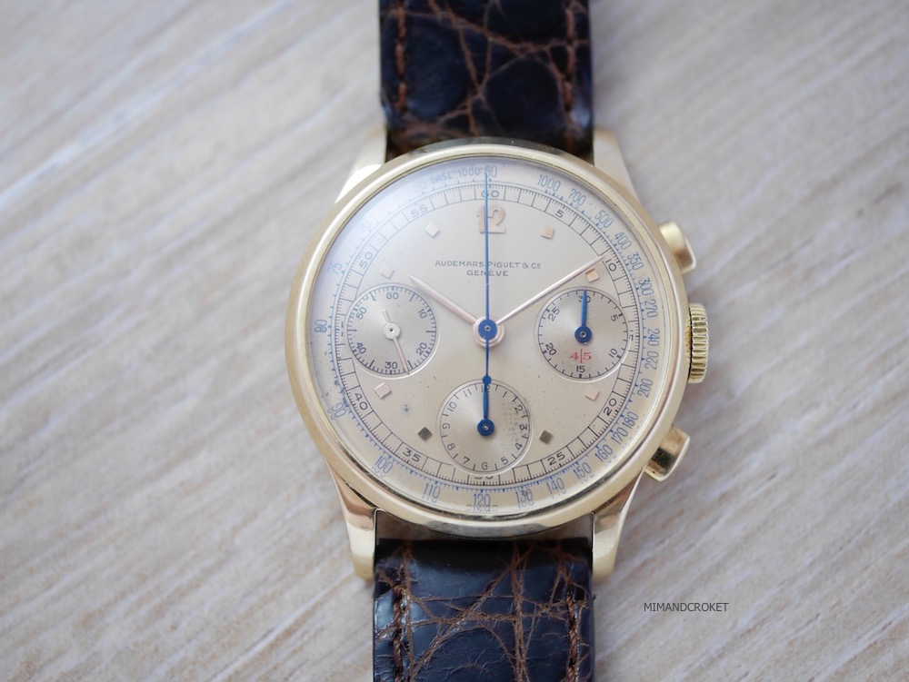 Audemars Piguet 3 register chronograph