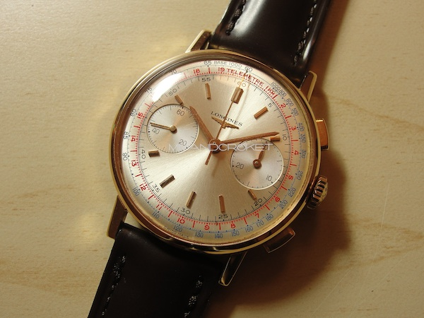 Longines 30 CH chrono rose gold